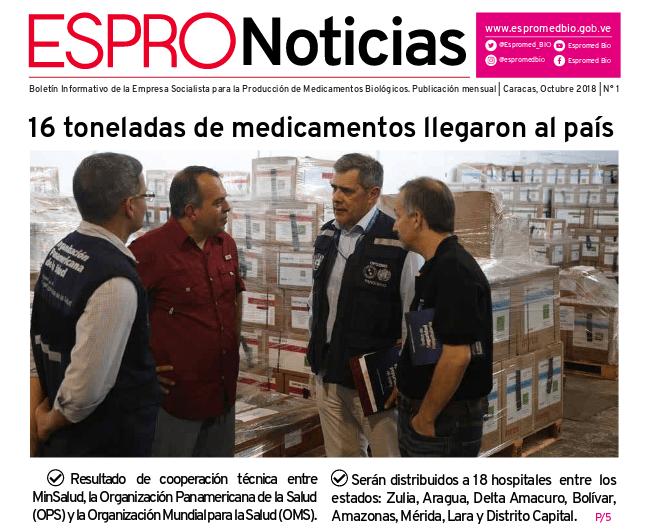 boletin espromed bio min salud venezuela